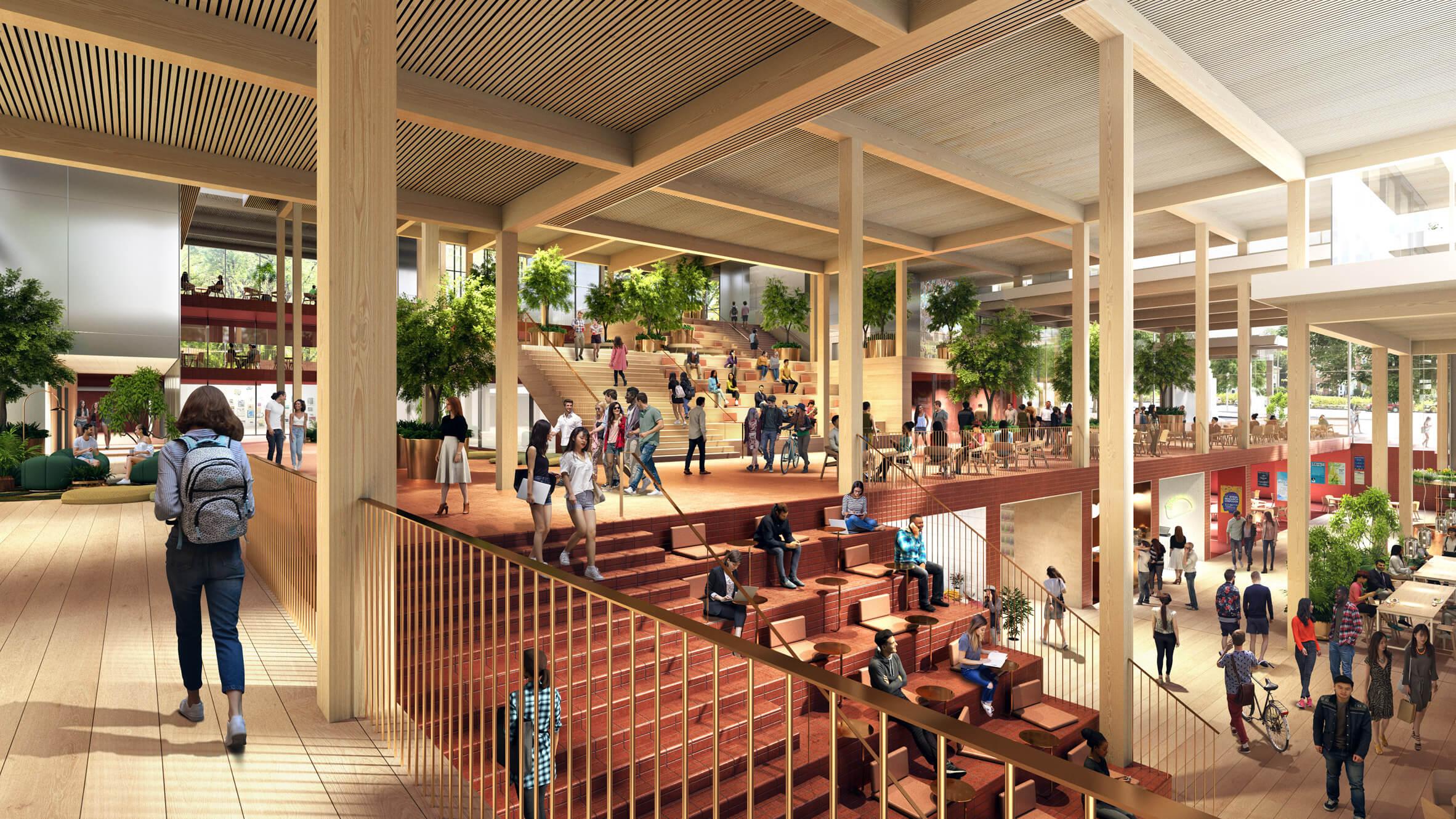 طراحی یک مرکز دانشجویی