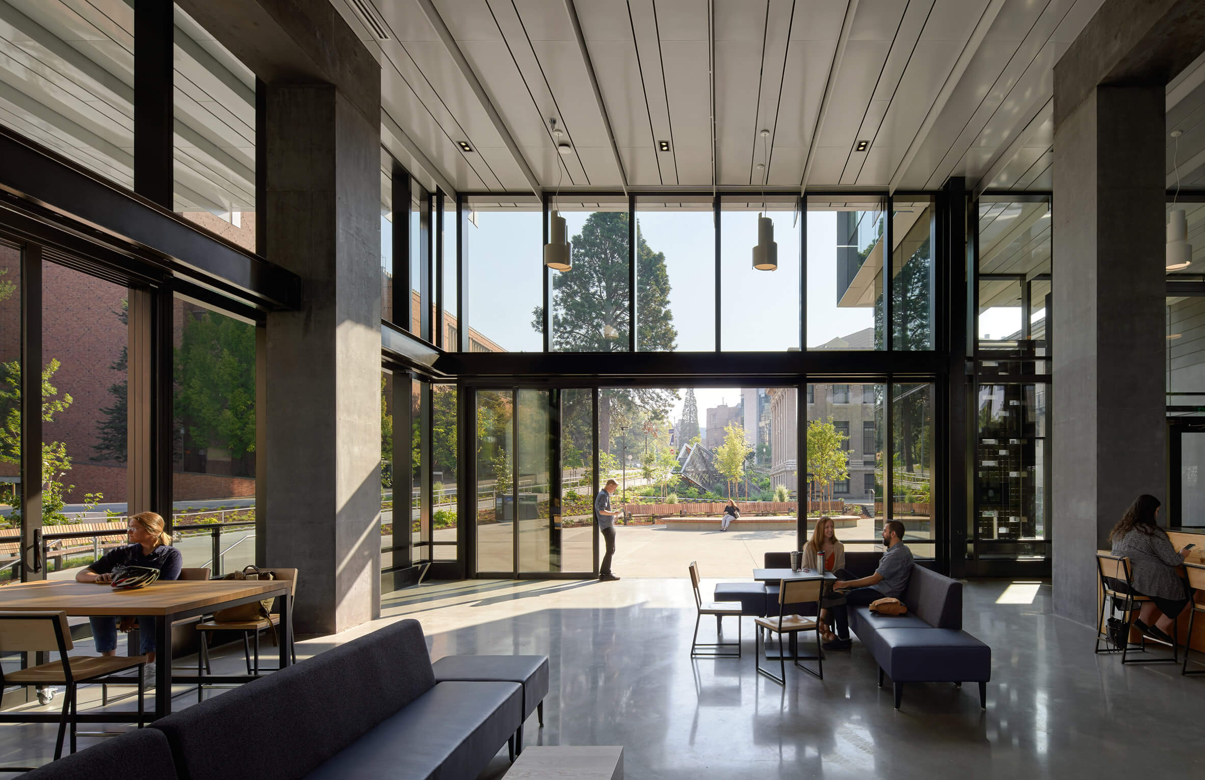Glazed fins wrap Seattle's Rosling Center by Miller Hull Partnership
