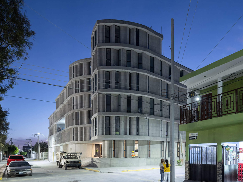 SO-IL builds Las Americas affordable housing development in Mexico