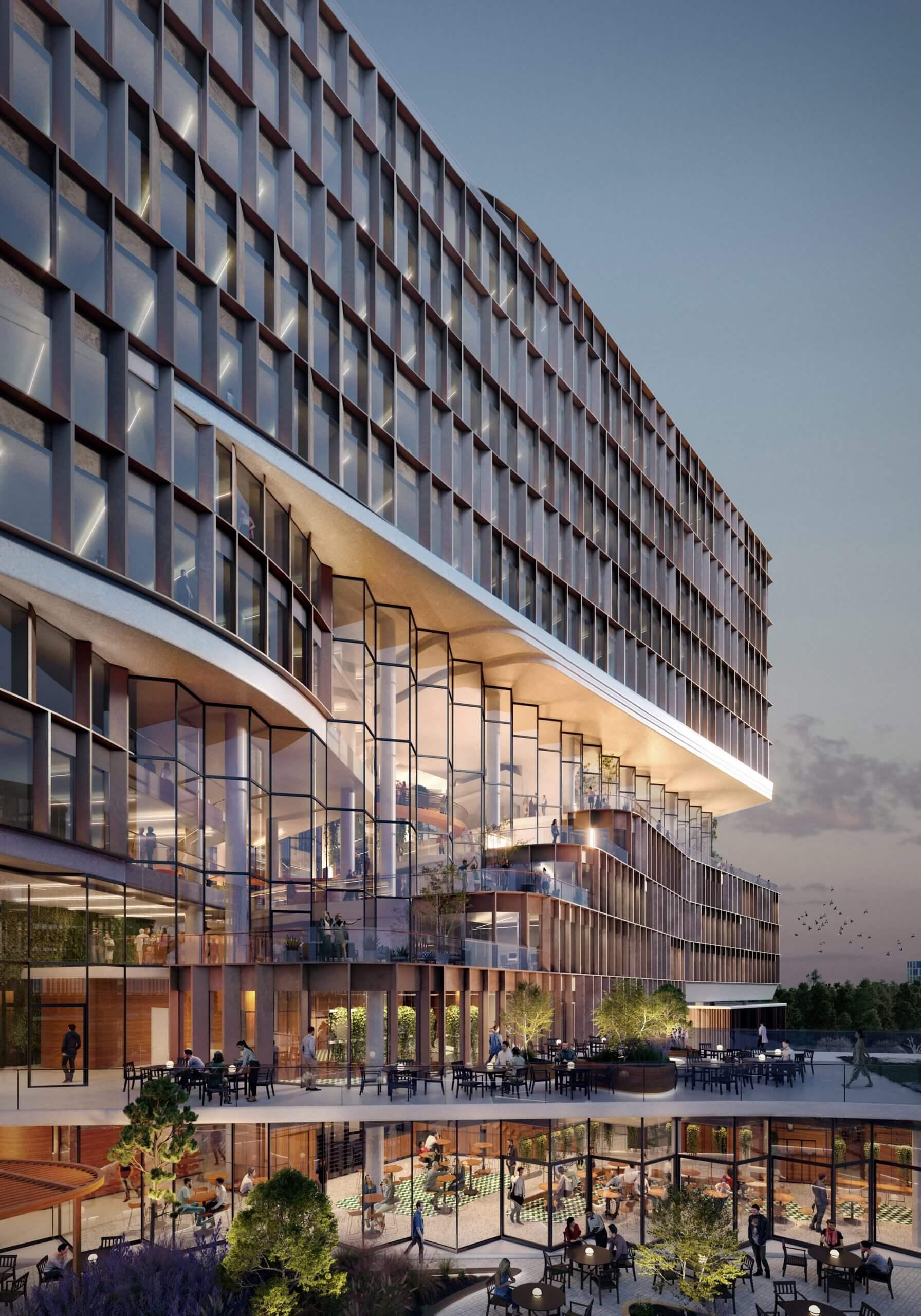 دفتر سنت پترزبورگ،با دهلیز زیگزاگ