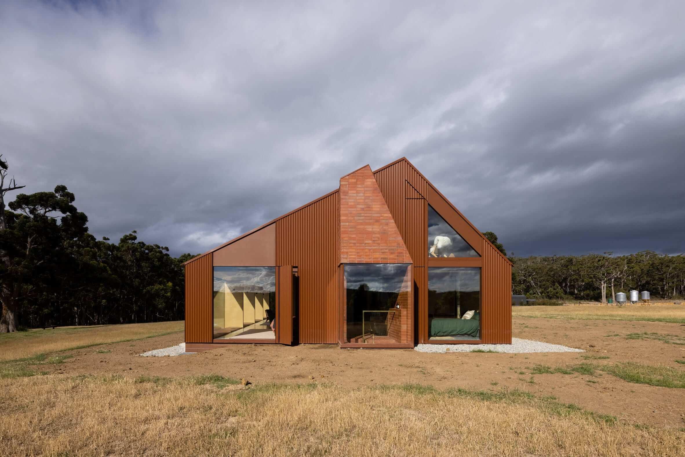 اقامتگاه کوپورث برداشت مدرن از یک مزرعه سنتی